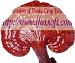 red mushroom-ping